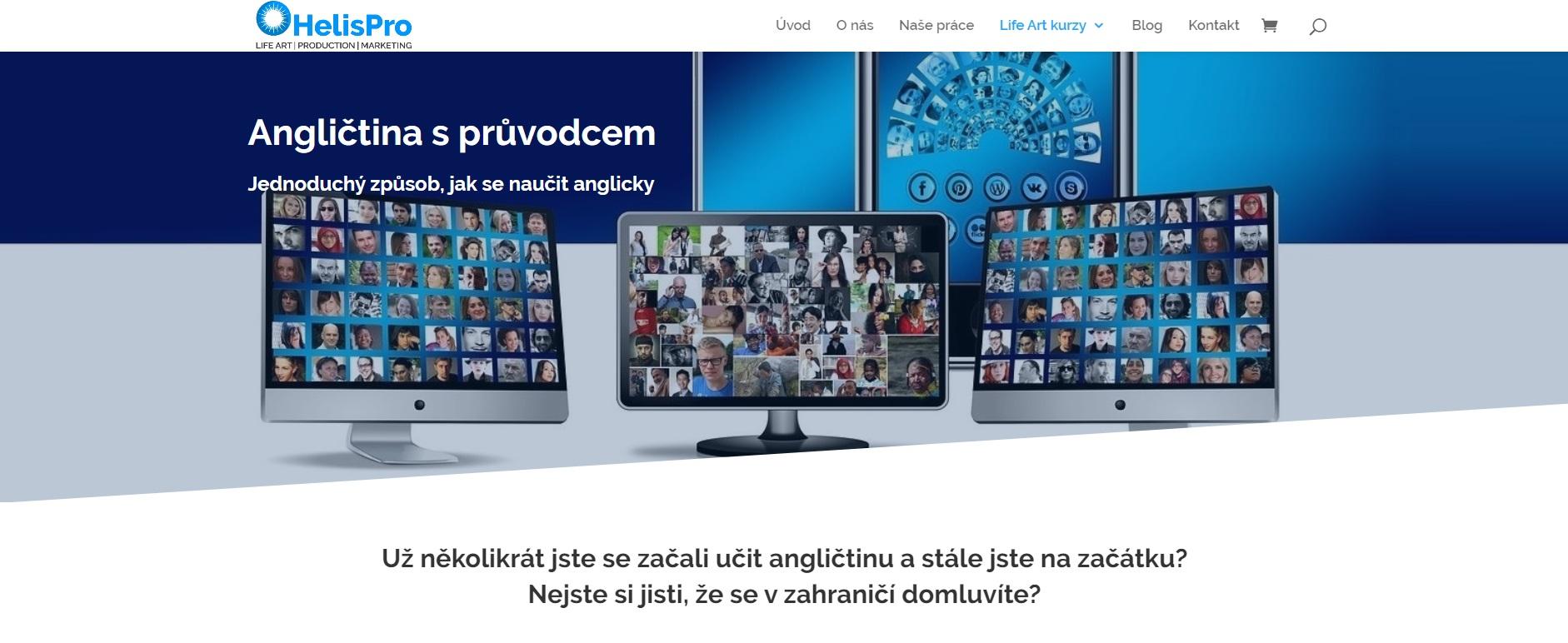 helispro.cz, naseprace, harmonieteladuse.cz, tvorbawebu, strategie, komunikace